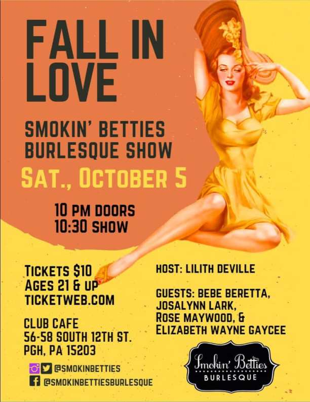 fall in love flyer